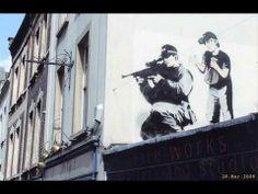 The Best of Banksy Street Art - YouTube