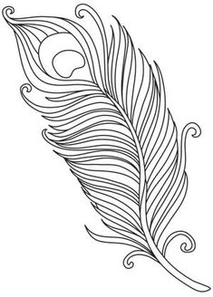 Peacock embroidery patterns from Urban Threads Paper Embroidery, Hand Embroidery Patterns, Embroidery Stitches, Feather Drawing, Feather Art, Feather Design, Peacock Art, Peacock Feathers, White Peacock