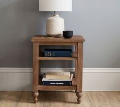 One day I'll have these beautiful bedside tables in my bedroom. I love them! #mypottetybarn