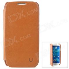 Brand: USAMS; Model: S4BL03; Quantity: 1 Piece; Color: Brown; Material: PU leather + PC; Compatible Models: Samsung Galaxy S4 i9500; Other Features: Protects your device from scratches, dust and shock; Ensure full access to all buttons; Packing List: 1 x Protective case; http://j.mp/1v2yz9K