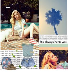 """""""Summer lovin"""" by evanabosh ❤ liked on Polyvore"""