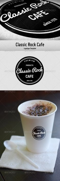 Classic Rock Cafe  #GraphicRiver         The logotype, designed in the classical style. Suitable for cafes, coffee houses, shops.  Features   Print ready: CMYK / 300ppi;  Multipile formats;  Organized layers;  Easy to customize;  Commercial free fonts used.  Fonts   Pacifico  Freeroad      Created: 21September12 GraphicsFilesIncluded: TransparentPNG #VectorEPS #AIIllustrator Layered: Yes MinimumAdobeCSVersion: CS Resolution: Resizable Tags: 80s #beans #black #blackandwhite #bw #cafe #circle…