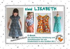 Nähanleitungen Kind - E-Book/Nähanleitung: Kleid LISABETH - ein Designerstück von Fabelwald bei DaWanda