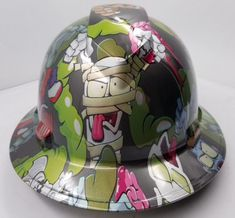 Top Notch Designs, Best Workmanship in badass hard hats. Many Hydrographic Hard Hats available in different themes. Hard Hats, Look Alike, Hat Sizes, Headgear, Cover Design, Skulls, Safety, Canada, Comics