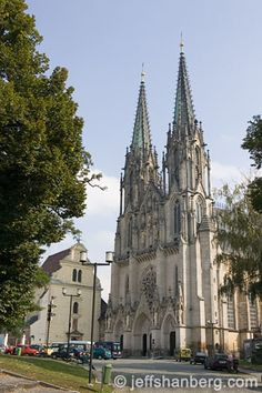 Olomouc - St. Wenceslas Cathedral Czech Republic, Barcelona Cathedral, Urban, Building, Travel, Viajes, Buildings, Trips, Bohemia