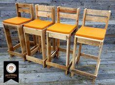 Resultado de imagem para cadeira de madeira pallet para barbeiro