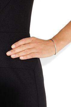 Bottega Veneta|Intrecciato sterling silver bracelet|NET-A-PORTER.COM