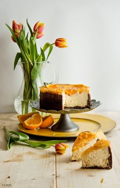 Spring cheesecake.