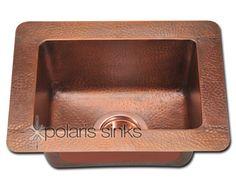 Copper P 509 Small Single Bowl Sink