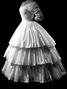 civil war ensemble full silhouette set c1860 corset with