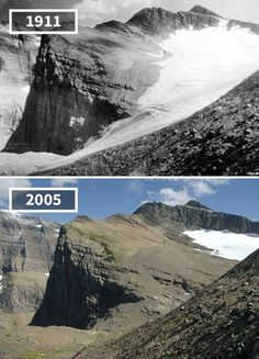 Before & After Pics Showing How The World Has Changed Over Time By Re.Photos - Beauty of Planet Earth Then And Now Pictures, Before And After Pictures, Save Our Earth, Save The Planet, Tour Eiffel, Saint Mathieu, Energy Resources, Paris Ville, Mont Saint Michel