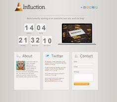 Influction - Under Construction - ThemeForest Previewer - via http://bit.ly/epinner