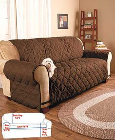 Renew and protect your upholstered pieces with The Ultimate Furniture Protectors. They guard against spills, stains, kids and pets while adding extra comfort. T