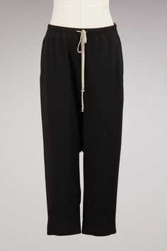 RICK OWENS Wool cropped trousers. #rickowens #cloth #