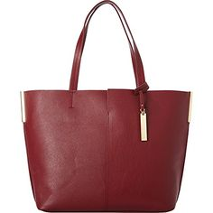 Vince Camuto Wylie Tote, Malbec/Oak -- Find out more about the great product at the image link.