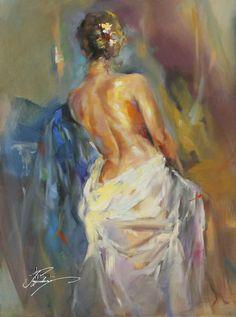 Painting by Anna Razumovskaya