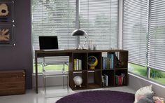 Manhattan Comfort Taranto Cubby Desk with 8 Shelves in Tobacco (Black) Modern Home Office Furniture, Home Furniture, Cubbies, Shelves, Office Desk, Bookcase, Manhattan, Home Decor, Classic