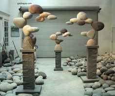 Incredible Stone Sculptures by American Artist Woods Davy