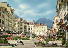 Grenoble | Place Grenette | 1970's