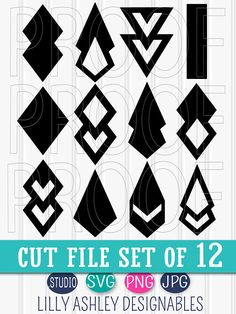 SVG Files set of 12 cutting files SVG/Studio/PNG/jpg Teardrop svg tear drop svg diamond svg commercial use approved! Iphone Wallpaper Bible, Iphone Wallpaper Inspirational, Watercolor Wallpaper Iphone, Iphone Wallpaper Glitter, Diy Leather Earrings, Diy Earrings, Leather Jewelry, Leather Craft, Diy Jewelry