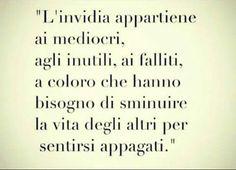 #falliti #mediocri = invidia