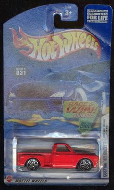 Hot Wheels 2002-031 Custom '69 Chevy First Edition 19 of 42 1:64 Scale ** Get more discounts! Click the pin : FREE Toys and Games