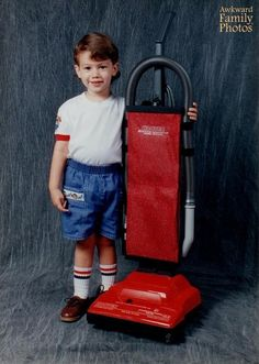 36 People With Inanimate Objects - AwkwardFamilyPhotos.com