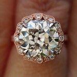 "The ""Bella"" Halo Setting - Featuring a 2.71ct OEC Center - Love Affair Diamonds"