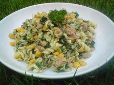 Tuňákový salát co dům dal Risotto, Potato Salad, Potatoes, Ethnic Recipes, Fit, Shape, Potato