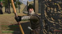 "c-rpg, the best persistant character development mod for multiplayer Mount & Blade: Warband.   I used to be ""Hirlok the Hermit"" and despite of my 200+ ping a legendary archer ;-)"