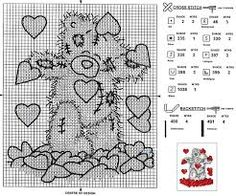 Image result for tatty teddy cross stitch patterns free