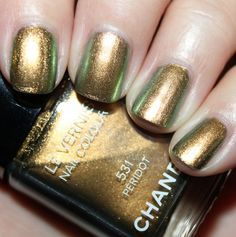 Chanel Peridot from the Illusions d'Ombre de Chanel collection.
