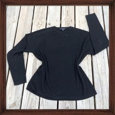 Banana Republic Black Pullover Sweater This simple black pullover is a staple for any closet. Easy to dress up or down. NWOT Banana Republic Sweaters Crew & Scoop Necks