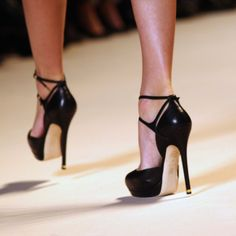 Sexy shoes Elie Saab - T bars. If only I could walk in heels :(