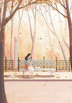 Stock Design, Cover Wattpad, Illustration Art Drawing, Cute Love Cartoons, Anime Scenery Wallpaper, Human Art, Anime Art Girl, Aesthetic Art, Cute Drawings