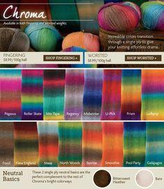 Knit Picks Chroma Worsted - Lollipop or Prism