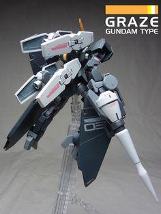 GUNDAM GUY: 1/144 Graze Gundam Type - Customized Build