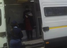 Service centres operate from caravans following closure of police stations #offbeat #coronavirus #covid19 #freestate #mpumalanga #police #southafrica