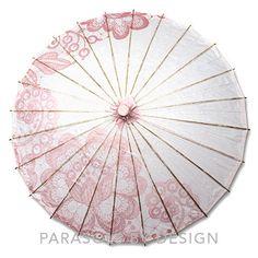 Pink Parasol, Sun Parasol Pretty Pink – Parasols by Design (dapper)