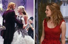 "I got ""Oliver Wood is your groom, George Weasley is his best man, and Fleur Delacour Weasley is your maid of honor.""!"