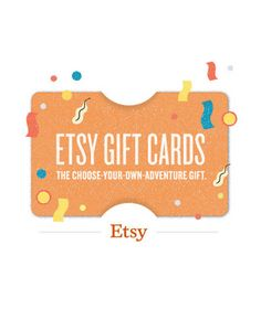 etsy gift card...one of my favorite websites!!!
