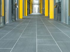 Marshalls Flamed Dappled Black Granite, Leadenhall Building