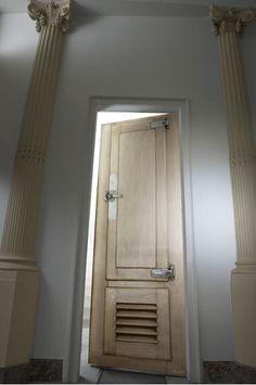 papier peint trompe l 39 oeil double porte portes. Black Bedroom Furniture Sets. Home Design Ideas