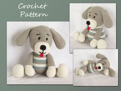 amigurumi dog, crochet pattern, dog pattern amigurumi, animal crochet