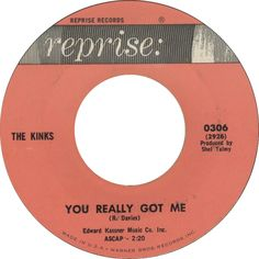You Really Got Me - The Kinks (1964)