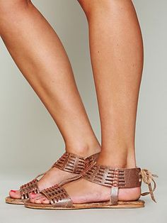 Free People - Cadice Stitch Sandal