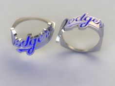 I was gonna marry Sandy Koufax…when I was 9.  Maybe this will work:Los Angeles Dodgers Ring