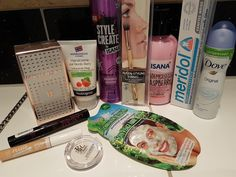 Mihaela Testfamily: Rossmann schön für mich Box Oktober 2016 - gerade auf Umwegen bei mir gelandet!  http://www.mihaela-testfamily.de  #sfmBox #schönfürmich #Rossmann #Beauty #Beautyblog #MakeUp #surprise #beautybox #makeup #hair #eyeshadow #skincare