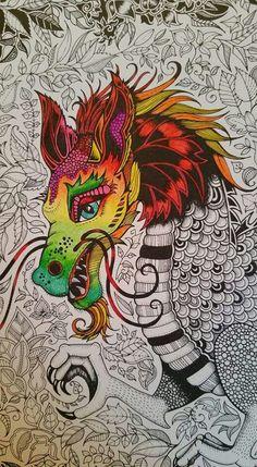 Johanna Basford Dragon