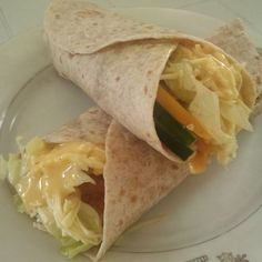 It has been a while Fish Fillet Wraps